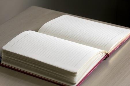 Journal on Desk