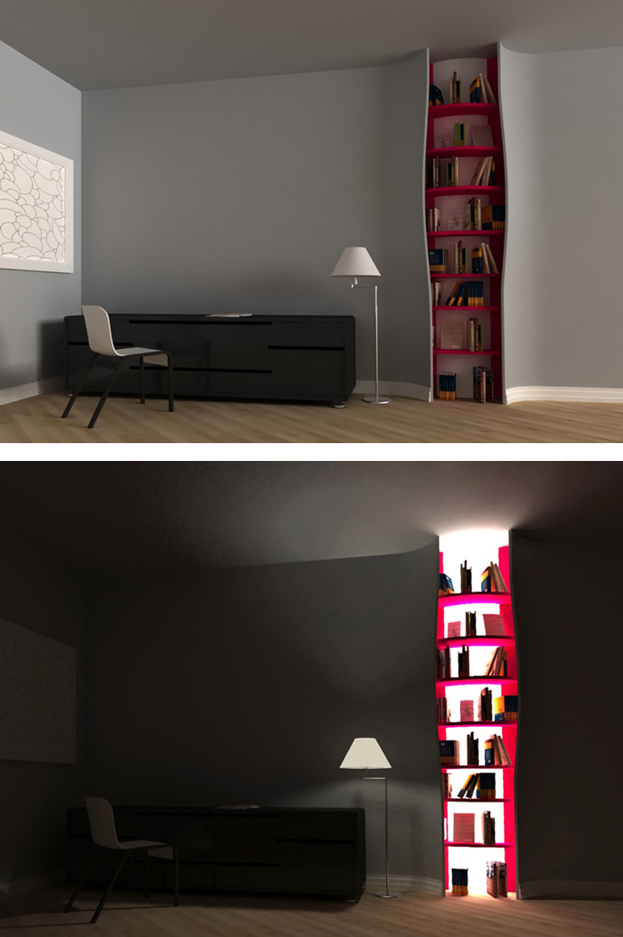 4 Creative Bookshelves WwfTap