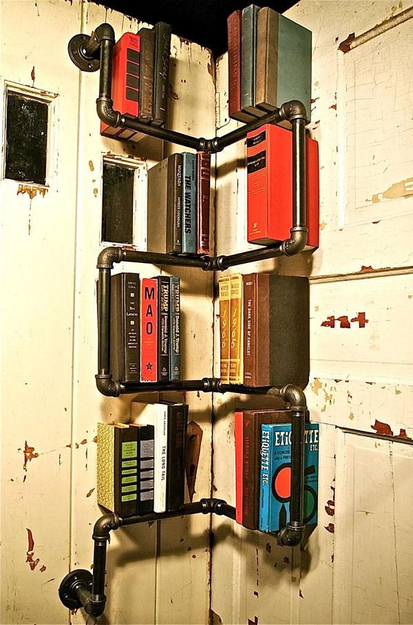 Corner-Industrial-Bookshelf wTG7VJ