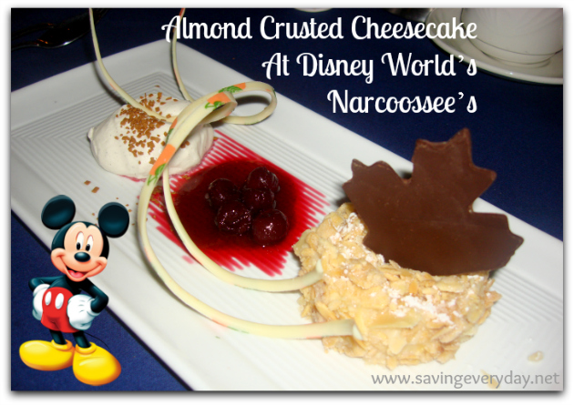 Almond-Crusted-Cheesecake-At-Disney