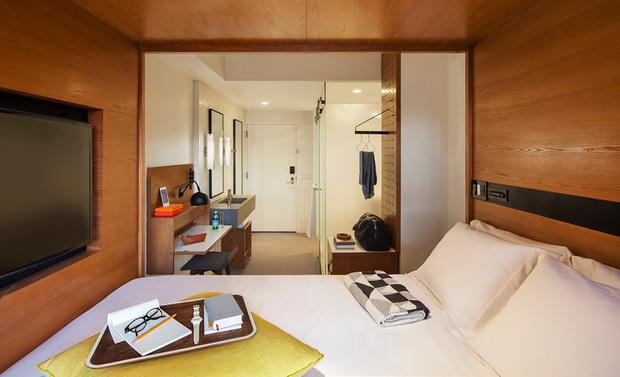 Arlo Hotels Bedroom view