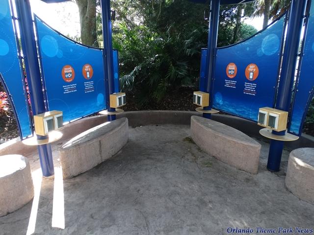 Charging Stations at Seaworld