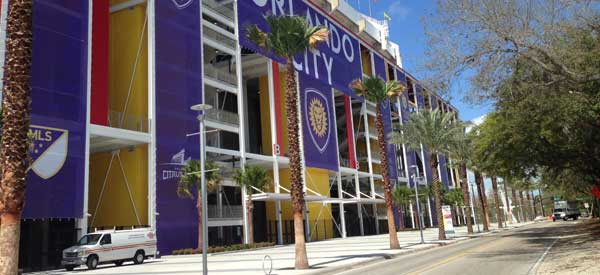 Citrus Bowl exterior view