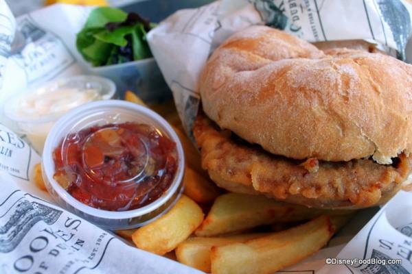 Disney Cookes of Dublin Burger