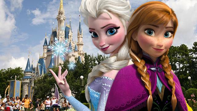 Disney Frozen Ana Elsa