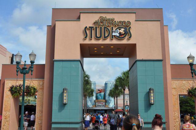 Disney HollyWood-Studios-Entrance