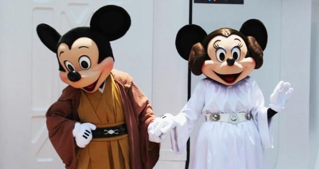 Disney Hollywood Studios Star Wars Mickey Minnie