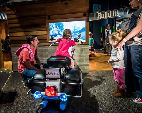 Harley Davidson Orlando Science Center virtual driving