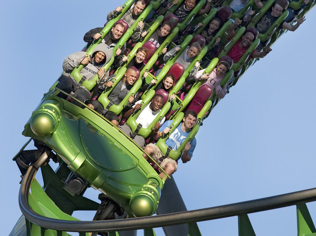 Islands of Adventure Incredible Hulk coaster