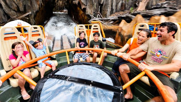 Kalid River Rapids Disney ride image