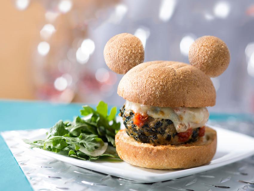 Mickey Ears Disney Burger