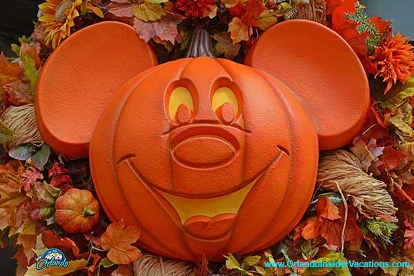 Mickeys Not So Scary Halloween Party Mickey Shaped Pumpkin