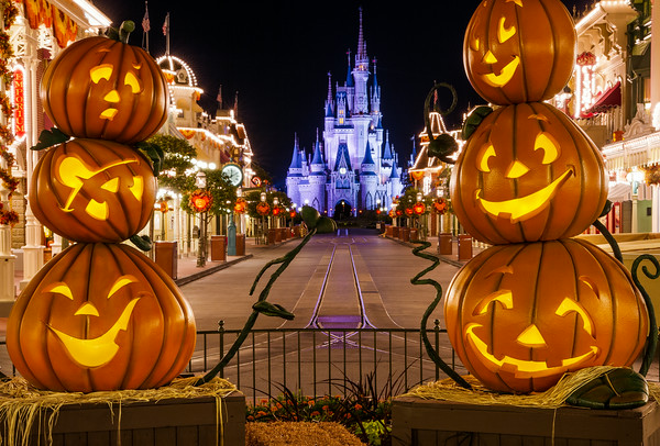 Mickeys Not So Scary Halloween Party Pumpkins Castle