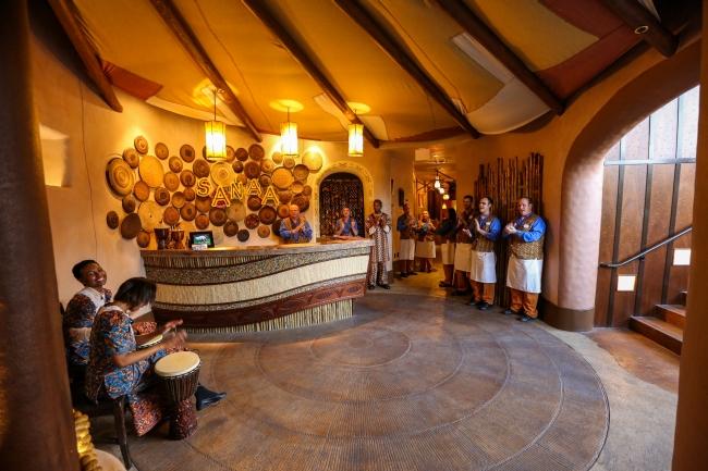 Sanaa Restaurant entrance view