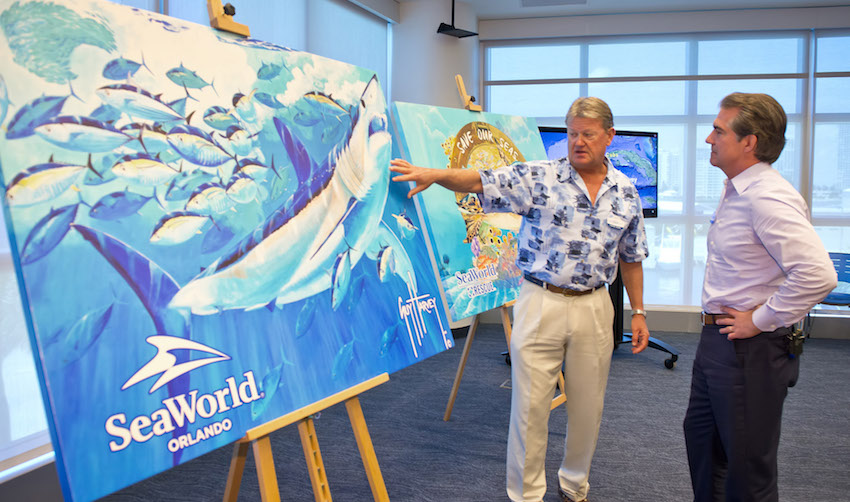Seaworld alliance with guy harvey perks conservation - Can you bring food into busch gardens ...