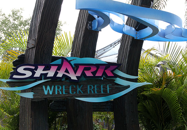 SeaWorld Shark Reck Reef Entrance Poster featured image
