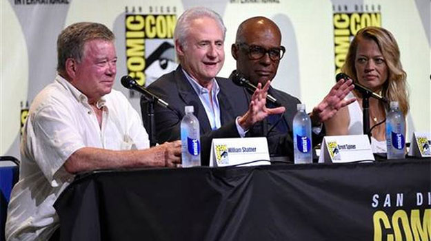 Star Trek Panel for 50th Anniversary and Comic Con