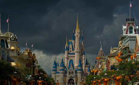 Storm over the Castle
