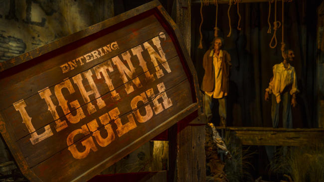 The Curse of Lightning Gulch House Entrance