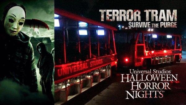 The Walking Dead Terror Tram HHN poster