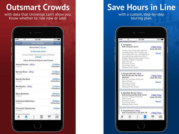 Universal Orlando Resort App IPhones image