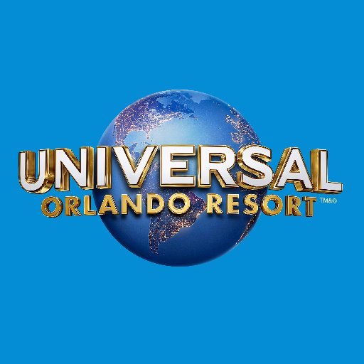 Universal Orlando Resort Logo Blue Background
