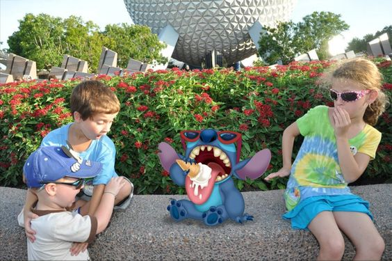 Unmanned PhotoPass Disneyworld
