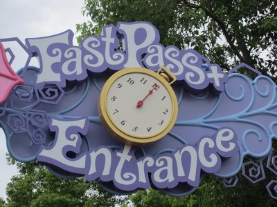 WDW Fast Pass Purple Clock image