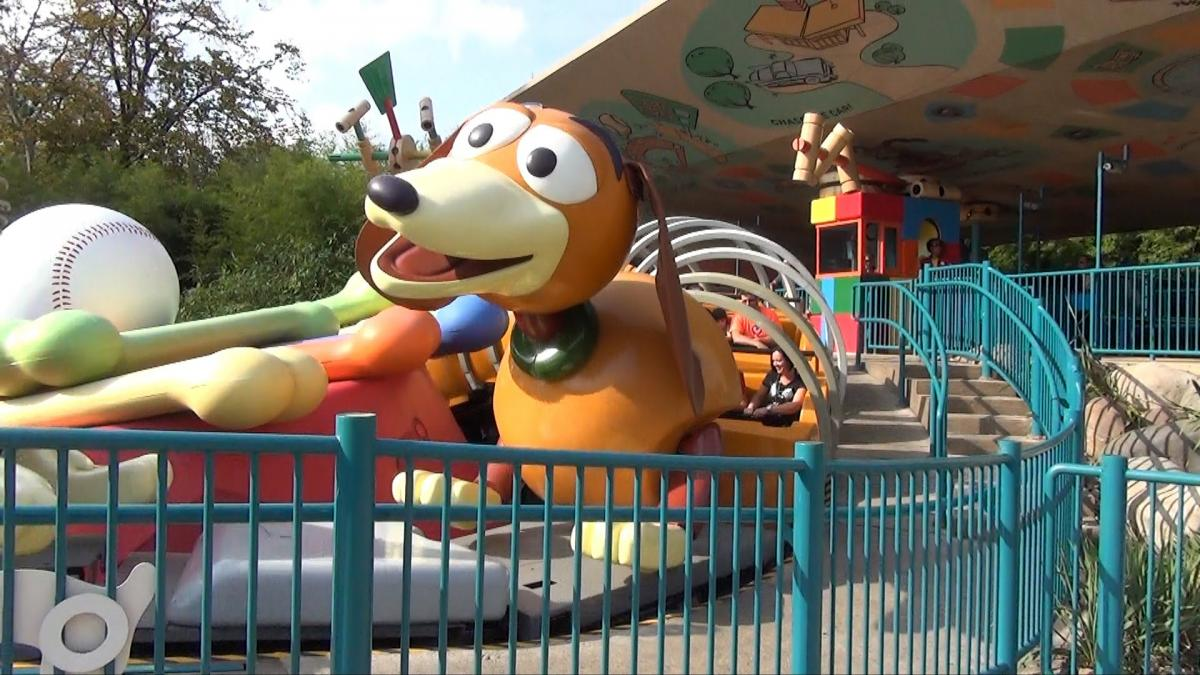 WDW Toy Story Slinky Dog Dash Run Bcwflq