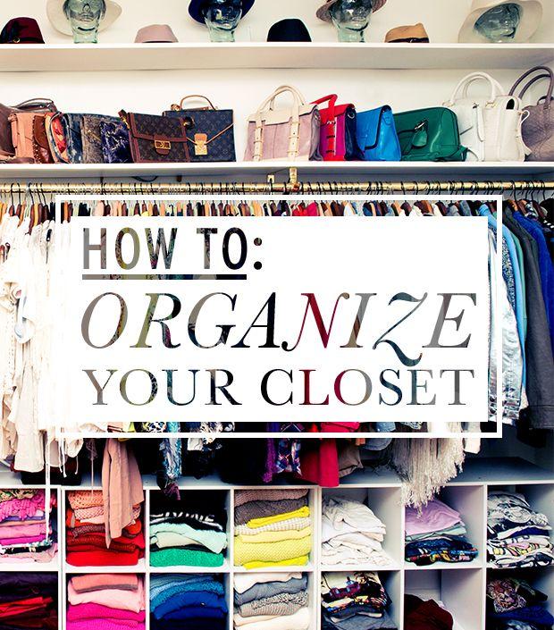 How To Organize Your Closet closet organization ideas | tipstoorganize